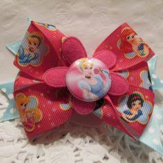 Disney Princess Hair Clip by Sootysdressupfriends on Etsy, $5.50
