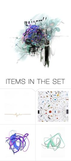 """Fractal of being"" by sharmarie ❤ liked on Polyvore featuring art"