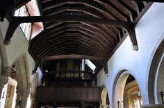 Stanton St Michael nave roof -178