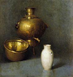 emil carlsen paintings | Painting by Soren Emil Carlsen American Artist