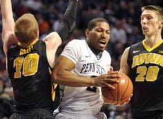 Feb. 28, 2015 — Iowa 81, Penn State 77, OT (Photo: Associated Press)