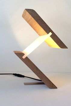 Wood lamp: 60 amazing models and how to proceed step by step - Decoration Ideas
