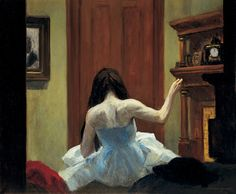 Edward Hopper (1882-1967), New York Interior, ca. 1921. Oil on canvas, Overall: 24 1/4 × 29 1/4in. (61.6 × 74.3cm). Whitney Museum of American Art, New York; Josephine N. Hopper Bequest 70.1200. ©Heirs of Josephine N. Hopper, licensed by the Whitney Museum of American Art. Photograph by Robert E. Mates.