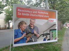 Bundestagswahl 2013 – Adbusting mit Wahlplakaten