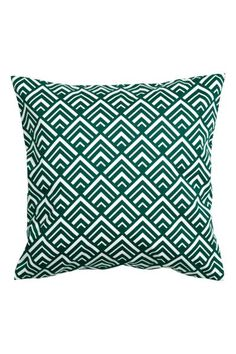 Żakardowa poszewka na poduszkę: Poszewka na poduszkę z tkaniny w żakardowy wzór. Gładki tył z bawełnianej tkaniny. Kryty suwak.