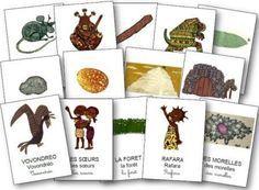 Rafara maternelle: fiches et jeux pour travailler sur Rafara Montessori, Afrique Art, Petite Section, Project 4, Learn To Read, Kenya, Place Card Holders, Learning, School