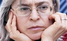 """Anna Politkovskaya was a Russian journalist who was critical of Putin. In her book """"Putin's Russia,"""" she accused Putin of turning his country into a police state. She was murdered by contract killers who shot her at point blank range in the lift outside her flat."""