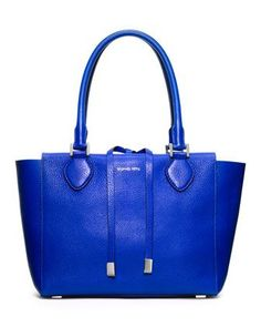 Michael Kors Large Miranda Grained Tote.