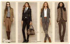 Классические костюмы и жакеты - элегантный офисный стиль