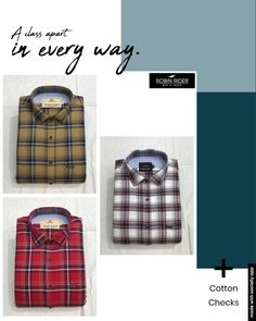 Casual Wear, Casual Shirts, Lunch Box, Menswear, Cotton, How To Wear, Casual Outfits, Casual Clothes, Casual Work Wear