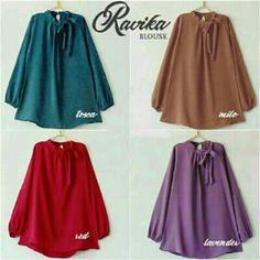Baju Atasan Wanita Ravika Blouse Online - https://www.butikjingga.com/baju-atasan-wanita-ravika-blouse