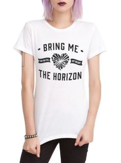 Bring Me The Horizon Heart Girls T-Shirt | Hot Topic Belgium/netherlands: large.be: http://www.large.nl/bring-me-the-horizon-feel-my-heart-girls-top/art_276162/