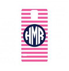 Hot Pink Stripe Galaxy S5 Phone Case (Samsung)