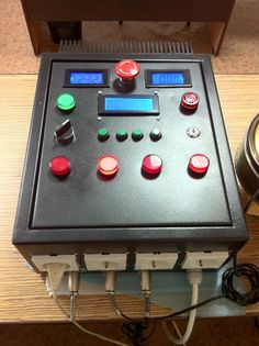 Handmade controller for home brewery