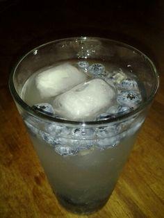 Blueberry Vodka lemonade. A Centaur creation.