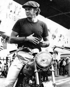 For Steve McQueen, Racing Motorcycles Was No Act - Neatorama