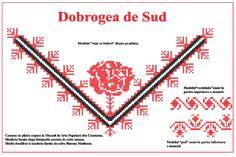 Modele de cusaturi traditionale din Dobrogea | Simona Moon Romania, Tips, How To Make, Blog, Handmade, Costume, Dreams, Cots, Cross Stitch