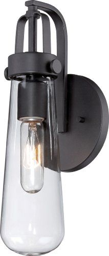 Nuvo Lighting 60/5361 Beaker One Light Wall Sconce 20 Watt T9 Vintage S2415 Lamps Included CUL Damp Location Clear Glass Aged Bronze Fixture Nuvo Lighting http://smile.amazon.com/dp/B00E8JD3IU/ref=cm_sw_r_pi_dp_MaNdvb1CKH4VH