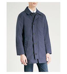 Canada Goose Wainwright Shell Coat In Polar Sea Canada Goose, Parka, Raincoat, Shell, Menswear, Shirt Dress, Mens Fashion, Mens Tops, Jackets