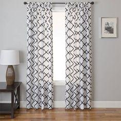 Curtains for Craft Room w/ Martha Stewart green walls & white furniture?