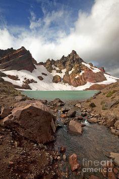 ✯ Broken Top's emerald tarn - Central Oregon's Cascade Range - Bend, Oregon