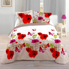 Funda nórdica y dos fundas para almohada (240 cm) Praderaelige entre todos nuestros productosHousse de couette Cool Christmas Trees, Christmas Tree Crafts, Pink Bedding, Bedding Sets, Chinese Painting Flowers, Luxury Bed Sheets, Painted Clothes, Christmas Fashion, Fabric Painting