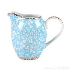 Jarra pequeña Floral Bleu Pip Studio 250 ml