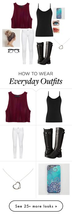 """""""Cute Night Out Outfit♥️"""" by graciesmiles1324 on Polyvore featuring Eürosoft, rag & bone and Tiffany & Co."""