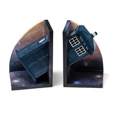 Doctor Who Bookends | ThinkGeek