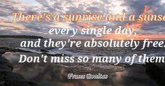 Good Morning, Inspirational, Inspirational quotes and motivational quotes, Jo Walton, Sunrise, Sunset, Wednesday,