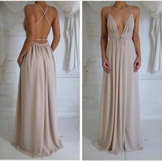 Prom Dresses,Split Prom Dress,Chiffon Prom Dress,Long Prom Dresses,2016 Formal Gown,Slit Evening Gowns For Teens