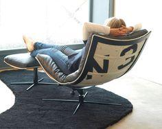 Spinnaker chair and footstool « KARKULA New York