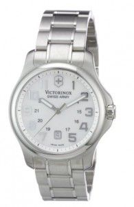 Victorinox Swiss Army Women's 241365 Officers Ladies Mother-of-Pearl Dial Watch