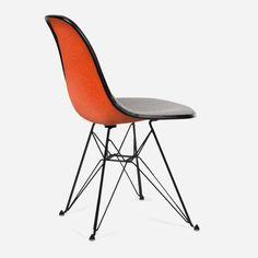 Case Study® Upholstered Side Shell Eiffel by Modernica (Made in USA)