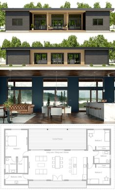 Small Home plan House Plan 2018