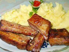 Rozi erdélyi,székely konyhája: Sült oldalas, sütőzacskóban sütve