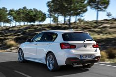 New BMW 1 Series 2015 M Sport rear