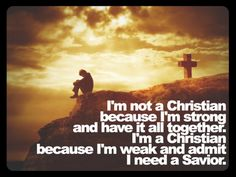 Like this. But it makes me think that as Christians we still take to much credit for our Salvation. Think about it.