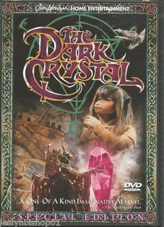 The Dark Crystal DVD 1999 Subtitled Spanish Closed Caption Director Frank | eBay