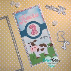 Marianne Design, Notebook, The Notebook, Exercise Book, Scrapbooking