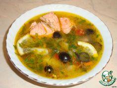 Овощной суп из форели ингредиенты