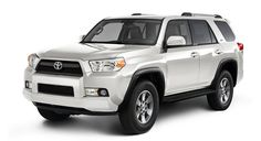 Toyota 4Runner in Blizzard Pearl.