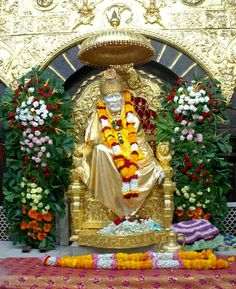 Inviting all Sai devotees to visit Shirdi for Punyatithi of Sai Baba to be observed from 23 Oct till 26 Oct 2012.