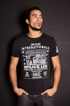 d8471803 BRUCE LEE KARATE LBC TEE | Roots of Fight Bruce Lee Karate, Roots Of Fight