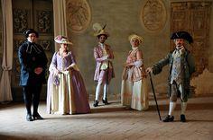 18th century life in VILLA ARCONATI Milan Italy