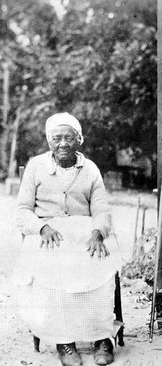 Former slave, Fort George Island, Florida, ca. 1900