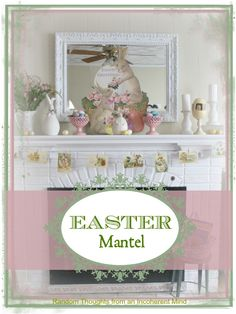Random thoughts from an incoherent mind: Easter Mantel Easter Party, Easter Gift, Happy Easter, Easter Decor, Easter Centerpiece, Centerpieces, Mantal Decor, Easter Crafts For Kids, Easter Ideas