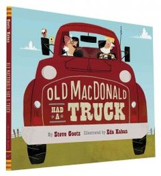 An update of the classic folk song, Old MacDonald, featuring farm vehicles like excavator, dump truck, and bulldozer.