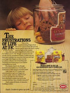 A staple of Canadian childhoods (mine included) for decades now: Dad's Cookies.