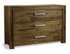 Schlichter Nachttisch Mit Stilvollen Stahl-elementen. | Betten.de ... Schlafzimmer Vintage Modern